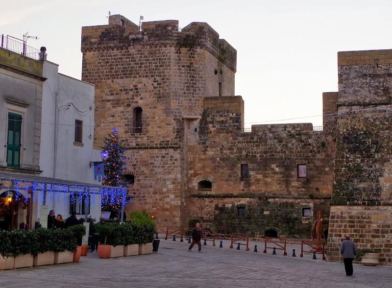 Castello Aragonese in Castro (Apulien)