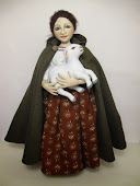 Shepherdess with Lamb
