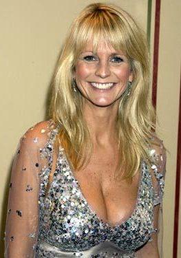 british female tv presenters tits