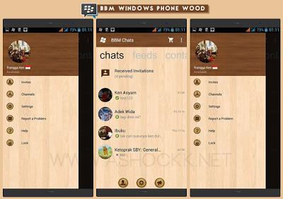 BBM MOD Tampilan Elegan v2.10.0.35 Apk Android