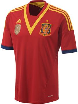 Camisa seleção da Espanha 2013