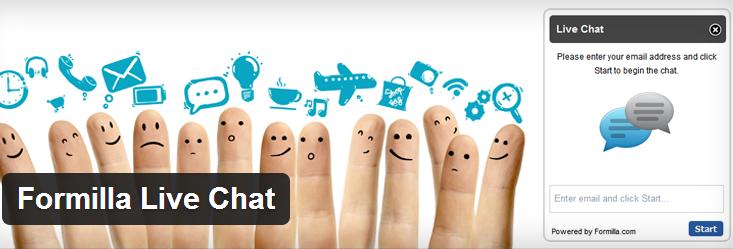 Formilla Wordpress Live Chat & Contact form Plugins