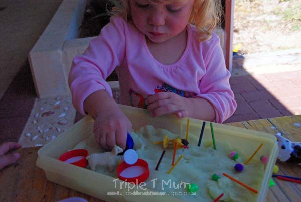 Multi-age Play Dough Activity