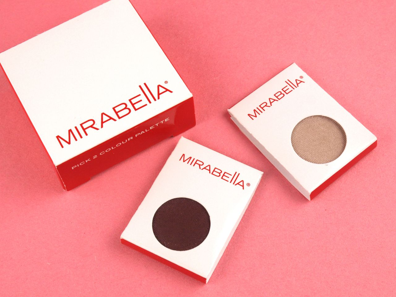 "Mirabella Shadow Duo (Pick A Color Palette) in ""Poppy"" & ""Vintage"" ($30):"