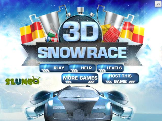 Unblocked Game : 3D Snow Race