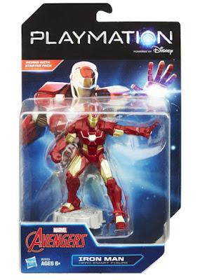 TOYS : JUGUETES - PLAYMATION Marvel Avengers - Iron Man Hero Smart Figure | Figura - Muñeco  Producto Oficial Disney 2015 | Hasbro B2855 | A partir de 6 años Comprar en Amazon