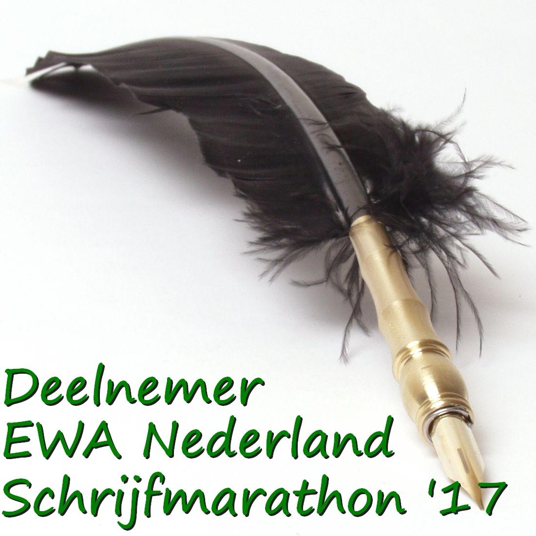 Deelnemer EWA Schrijfmarathon 2017