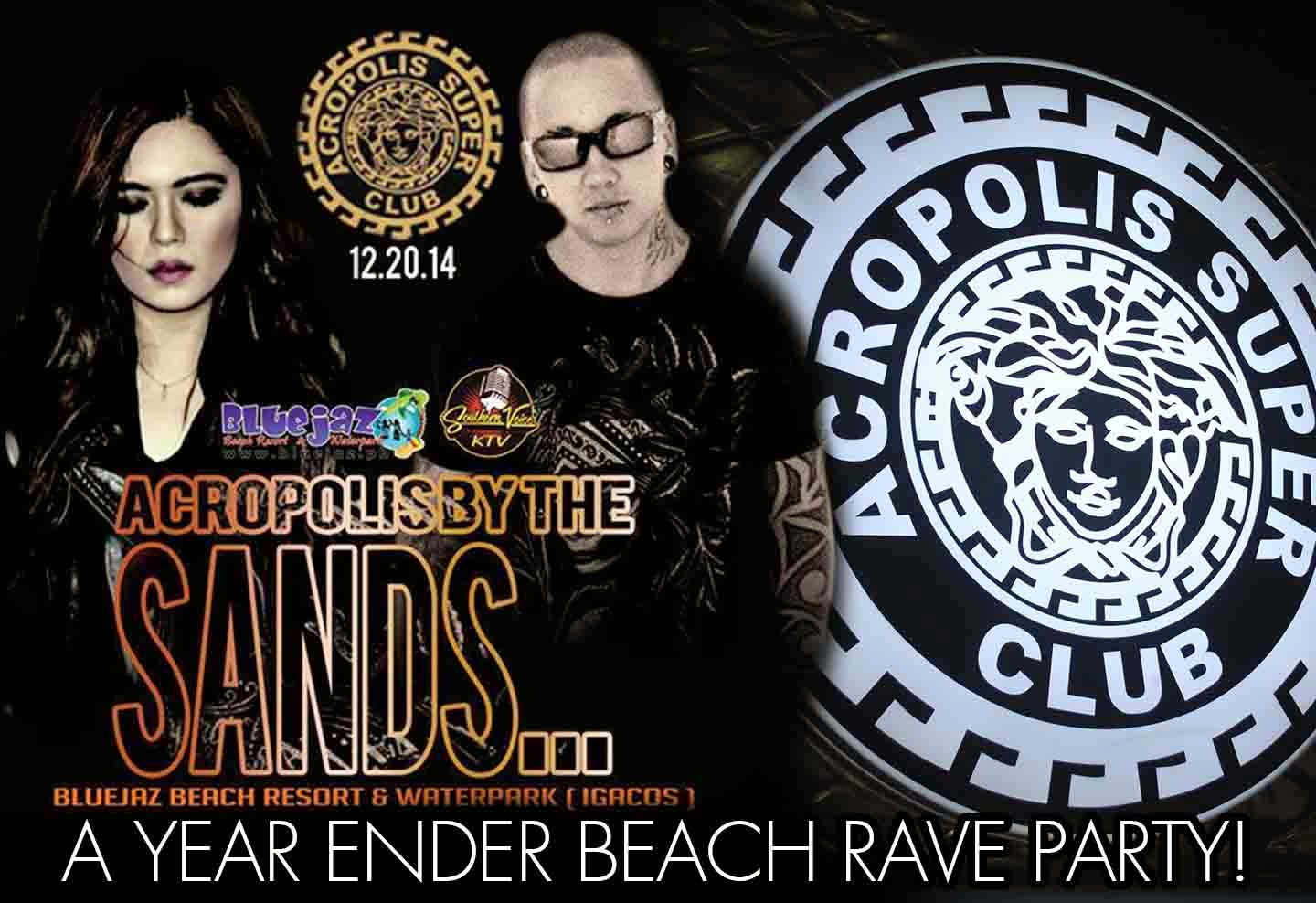 Acropolis Super Club Beach Rave Party at Blue Jazz Resort - Davao Region Philippines