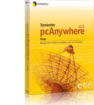 Symantec pcAniywhere(シマンテック・ピーシーエニィウェア)ロゴイメージ