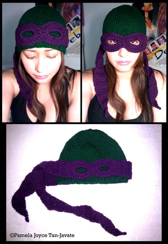 Gorro de las tortugas ninja con antifaz | La Guarida Geek