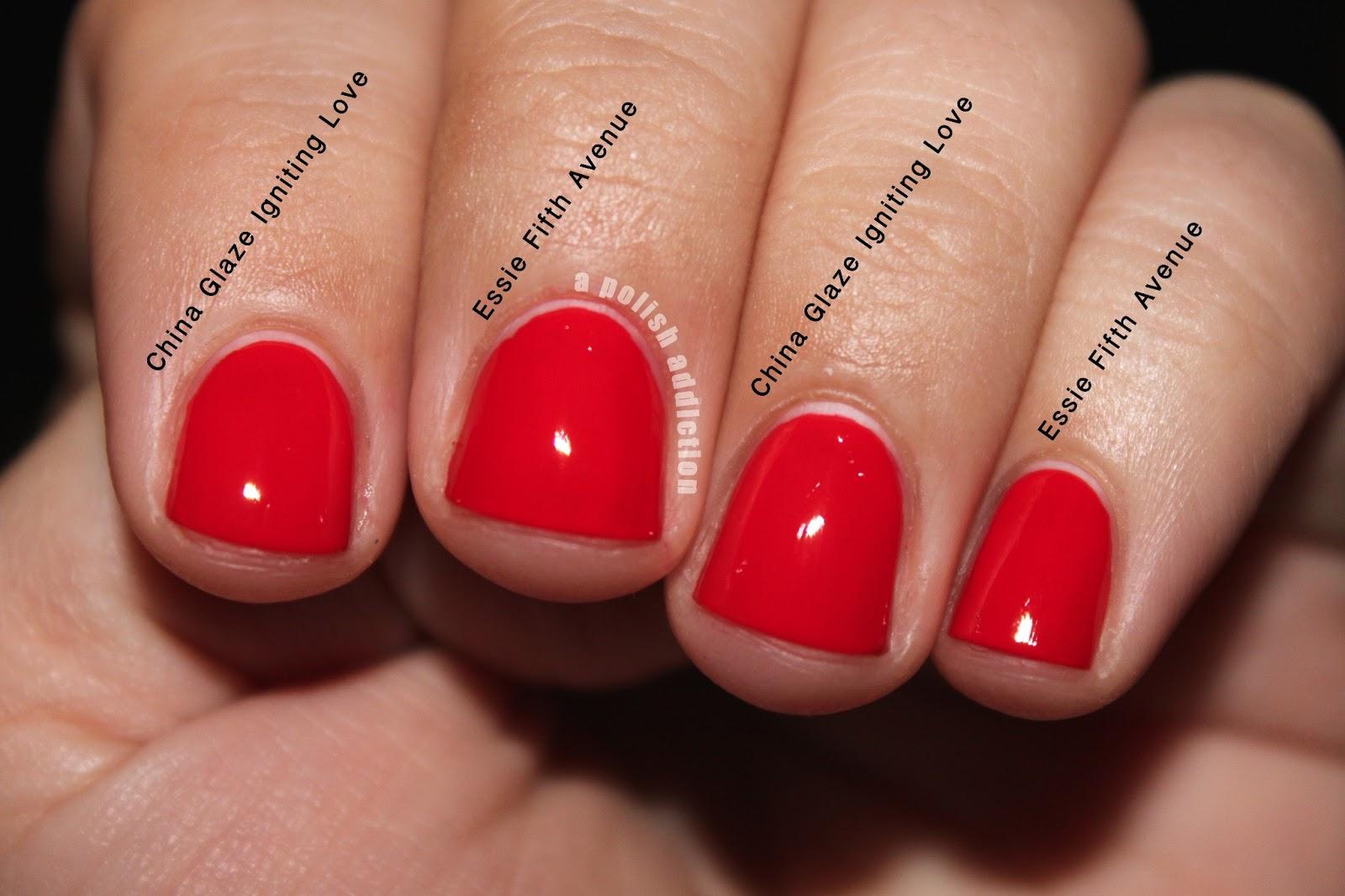 A Polish Addiction: Dupes! Essie Fifth Avenue and China Glaze ...