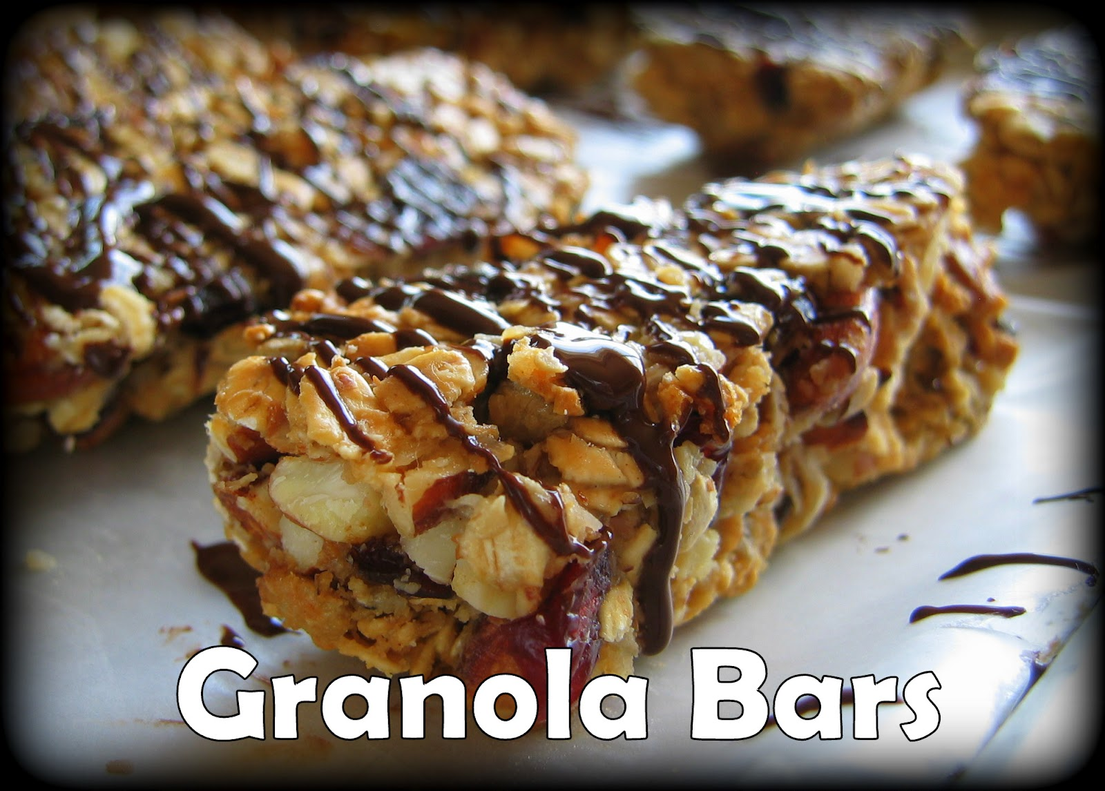 Granola Bars...a staple at our house!