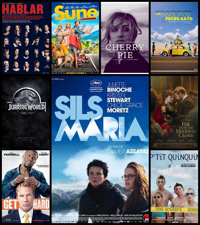 Estrenos, cines, Junio 2015