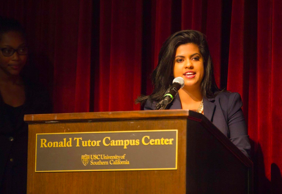 Last week Rini Sampath, the president of the student body at the University of Southern California (USC), went public with a racial abuse she had suffered. The post went viral, drew ample media attention and prompted university authorities to act.    Rini Sampath, an international majors student, was born in Theni, Tamilnadu, and emigrated to the US when she was in the sixth standard.