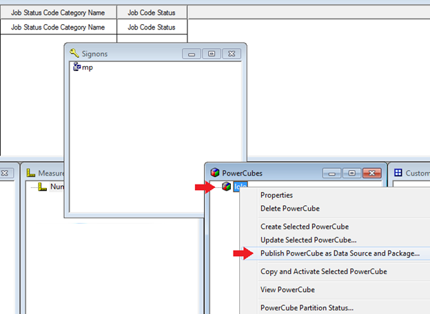 how to create data source connection in cognos