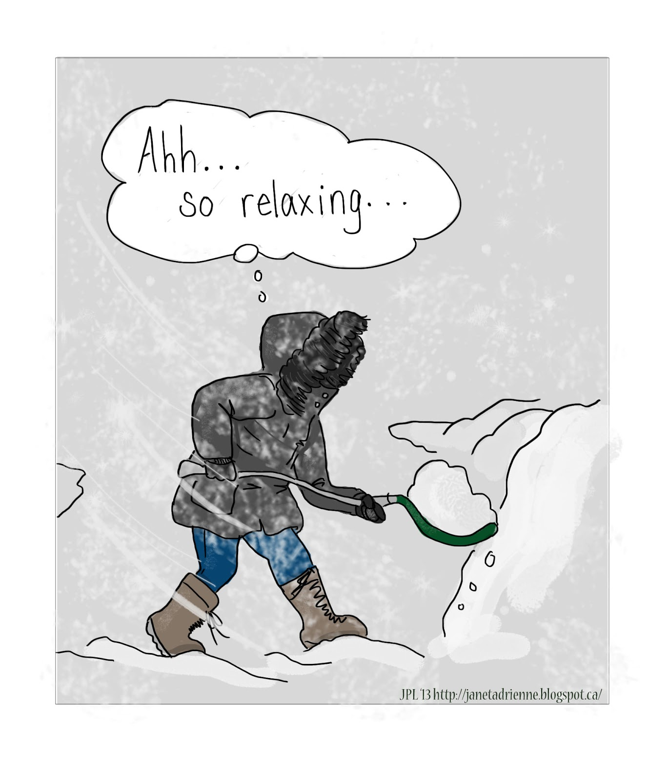 Cartoon-Coloured Glasses: Shoveling Metaphors