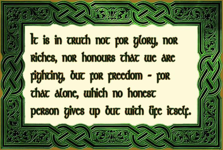 The Declaration of Arbroath 1320