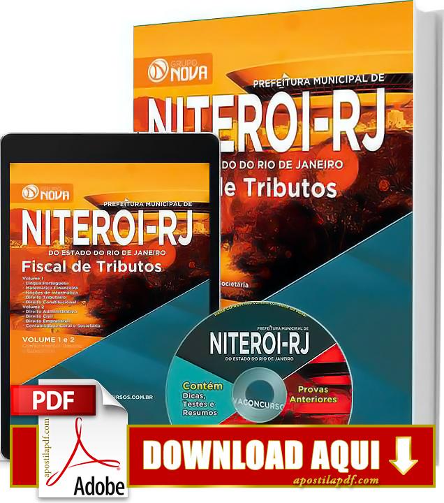 Apostila Prefeitura de Niterói RJ 2015 Fiscal de Tributos Impressa PDF Download Grátis