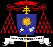 Escudo cardenalicio de Jorge Mario Bergoglio (Papa Francisco) escudo de armas del cardenal jorge mario bergoglio