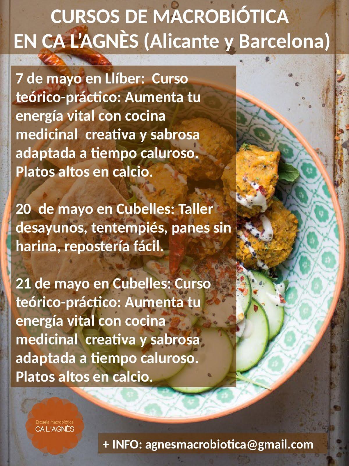 CURSOS MAYO 2017 (Cubelles-Barcelona y