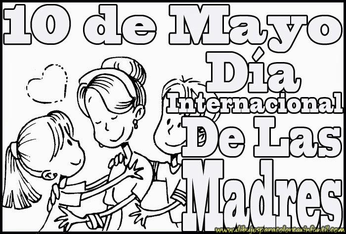 Dibujos Para Colorear 10 De Mayo - Dibujos Para Dibujar