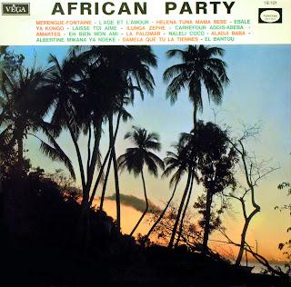 African Party - Various Artists,Vega 1968