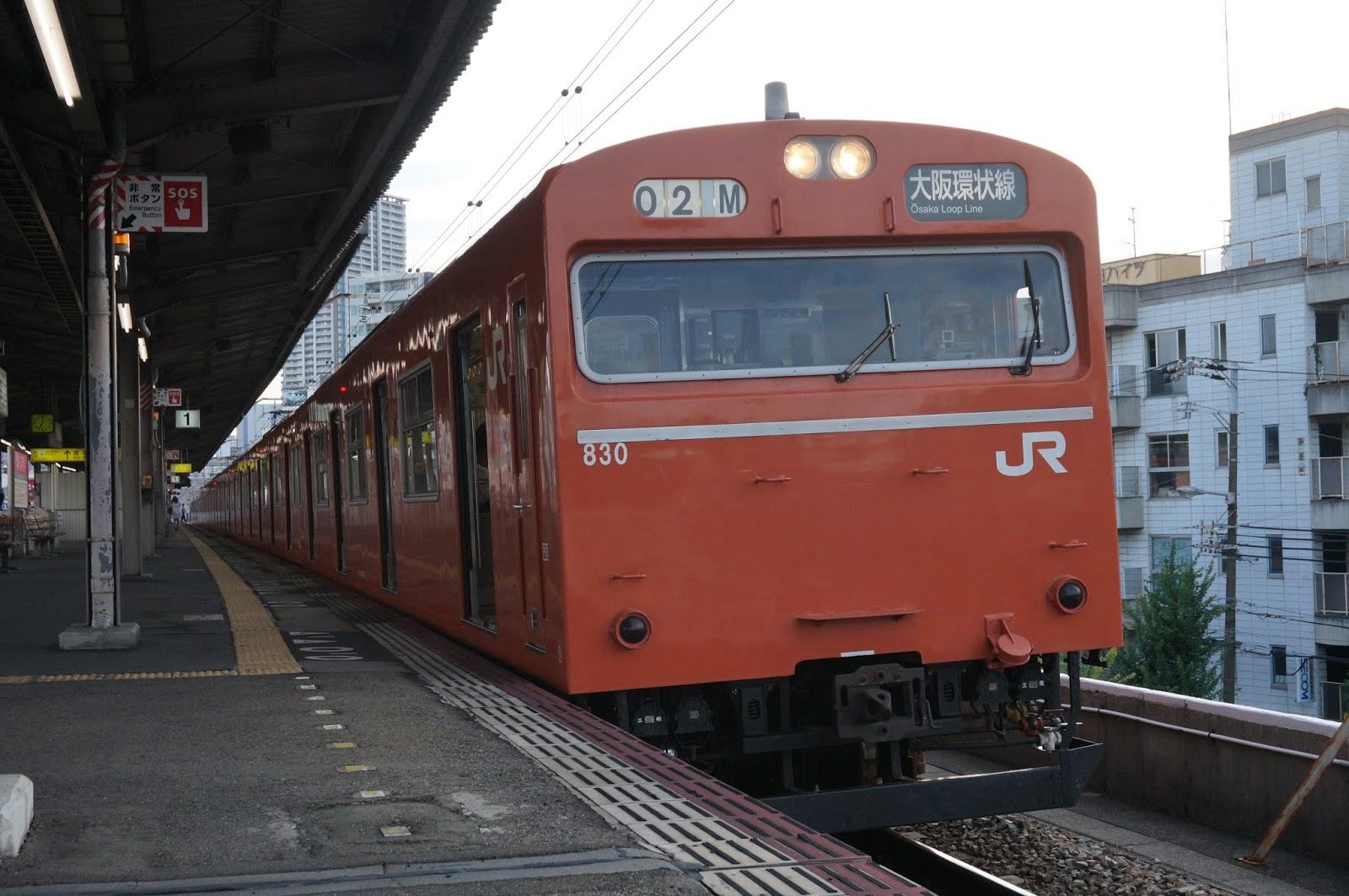 大阪環状線の103系