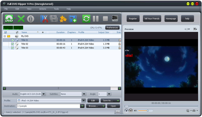 Download Full Version DVD Ripper Free 9.0.6.1 Latest Update 2013