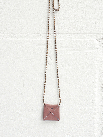 Jee Bags mini leather necklace