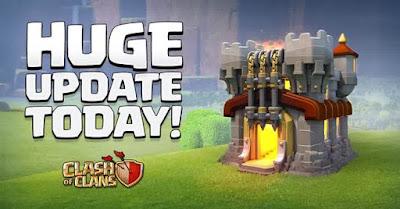 Game Clash of Clans atau COC beberapa hari kemudian meluncurkan Town Hall  Download Clash of Clans 9-10 Desember 2015 Update COC TH 11 Terbaru Full