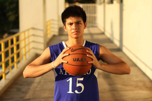 Ateneo Blue Eagles basketball player and star of Universities Athletic