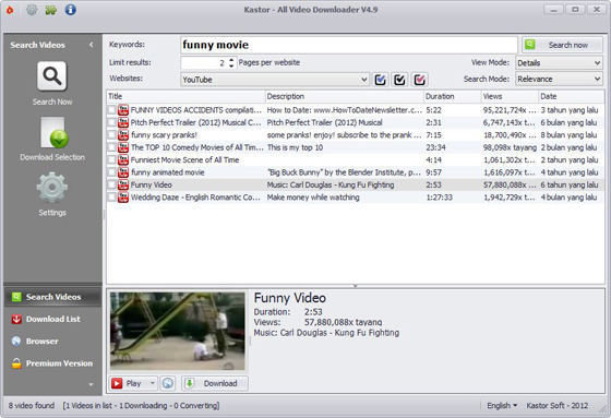 Kastor All Video Downloader 4.9