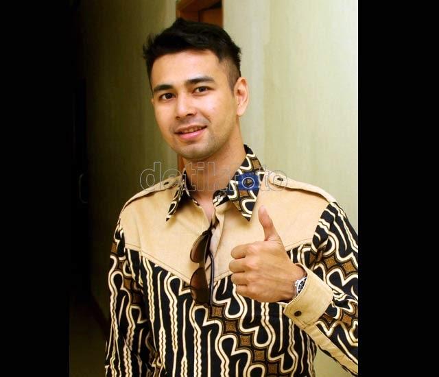 Foto Baju Batik Raffi Ahmad