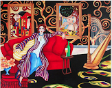 Klimt Meets Matisse - Commission