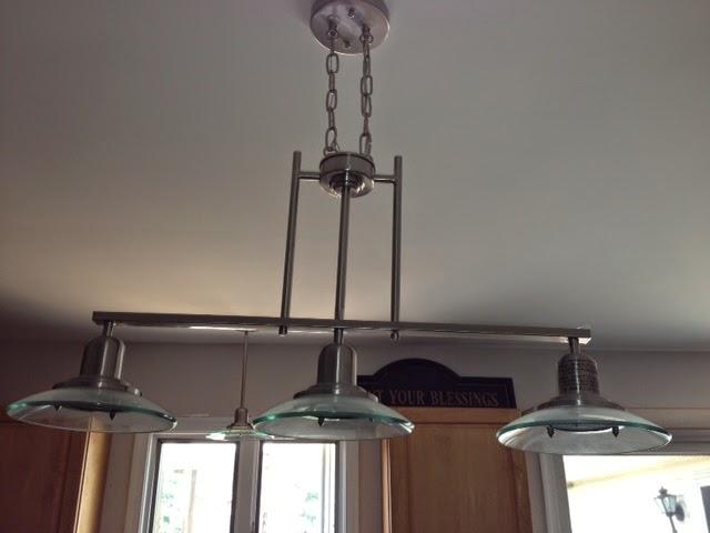 Shop Allen Roth 3 Light Vallymede Brushed Nickel: Delawaregaragesaleonline