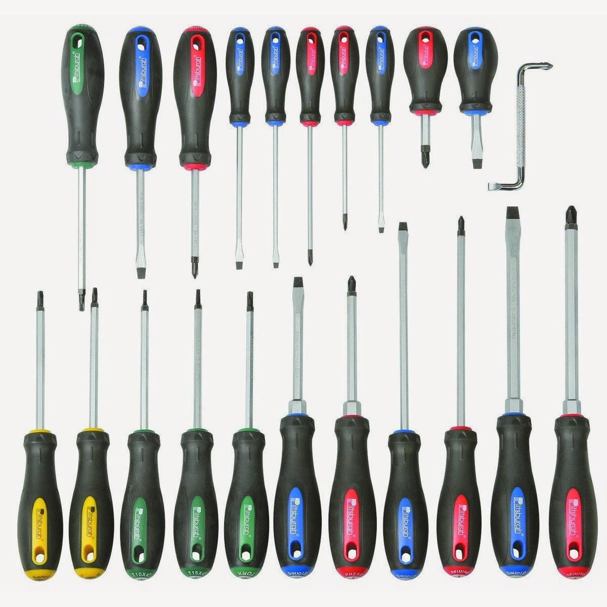 Equipos el ctricos y electr nicos salva herramientas del for Set de destornilladores