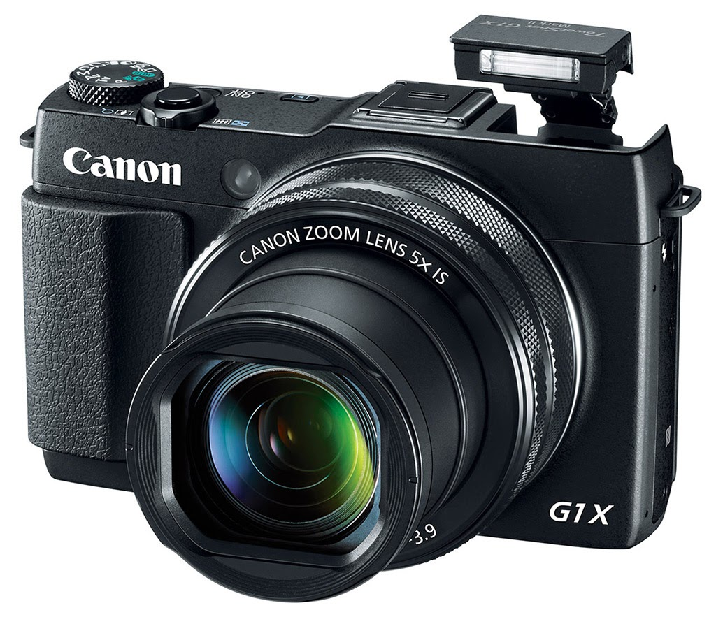 Optical Image StabilizerNew Canon camera, Canon PowerShot G1 X Mark II, Full HD video, mini DSLR, creative pictures, NFC, Wi-Fi, zoom lens, high-end compact camera