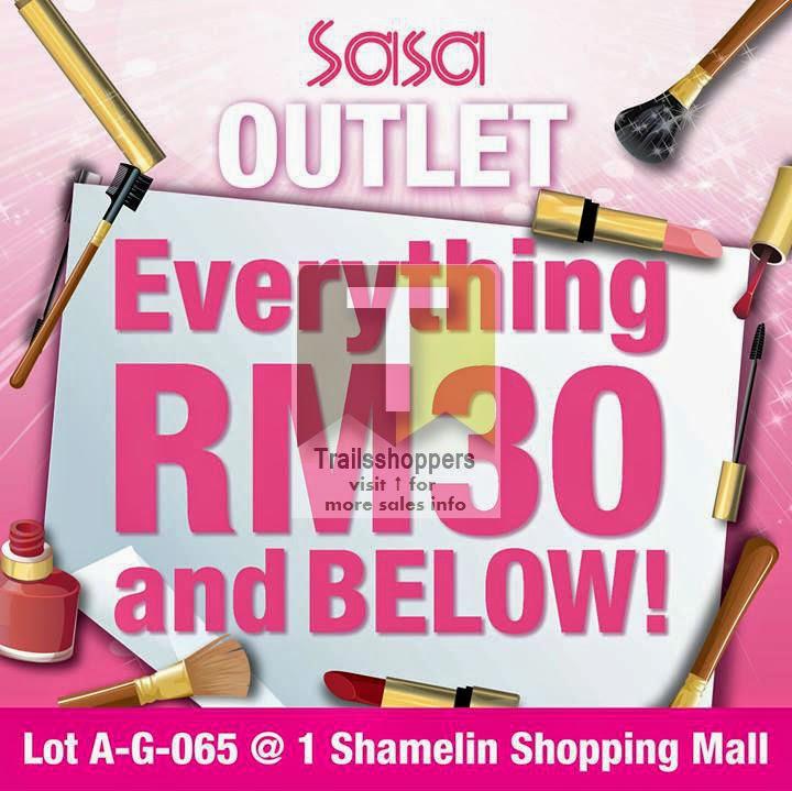Sasa Outlet 1 Shamelin Shopping Mall Sale