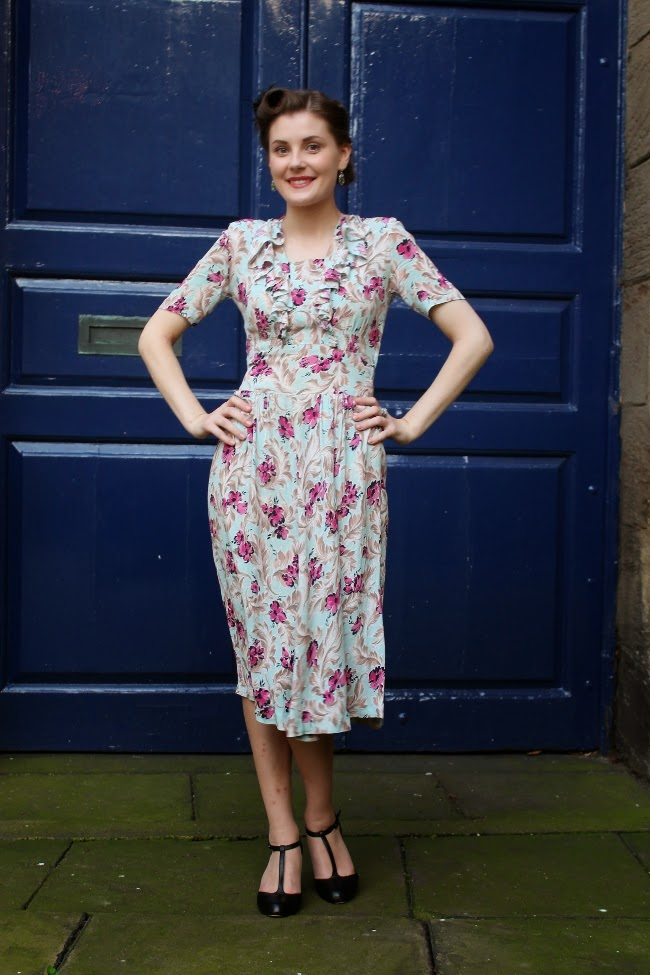 40s birthday outfit via lovebirds vintage