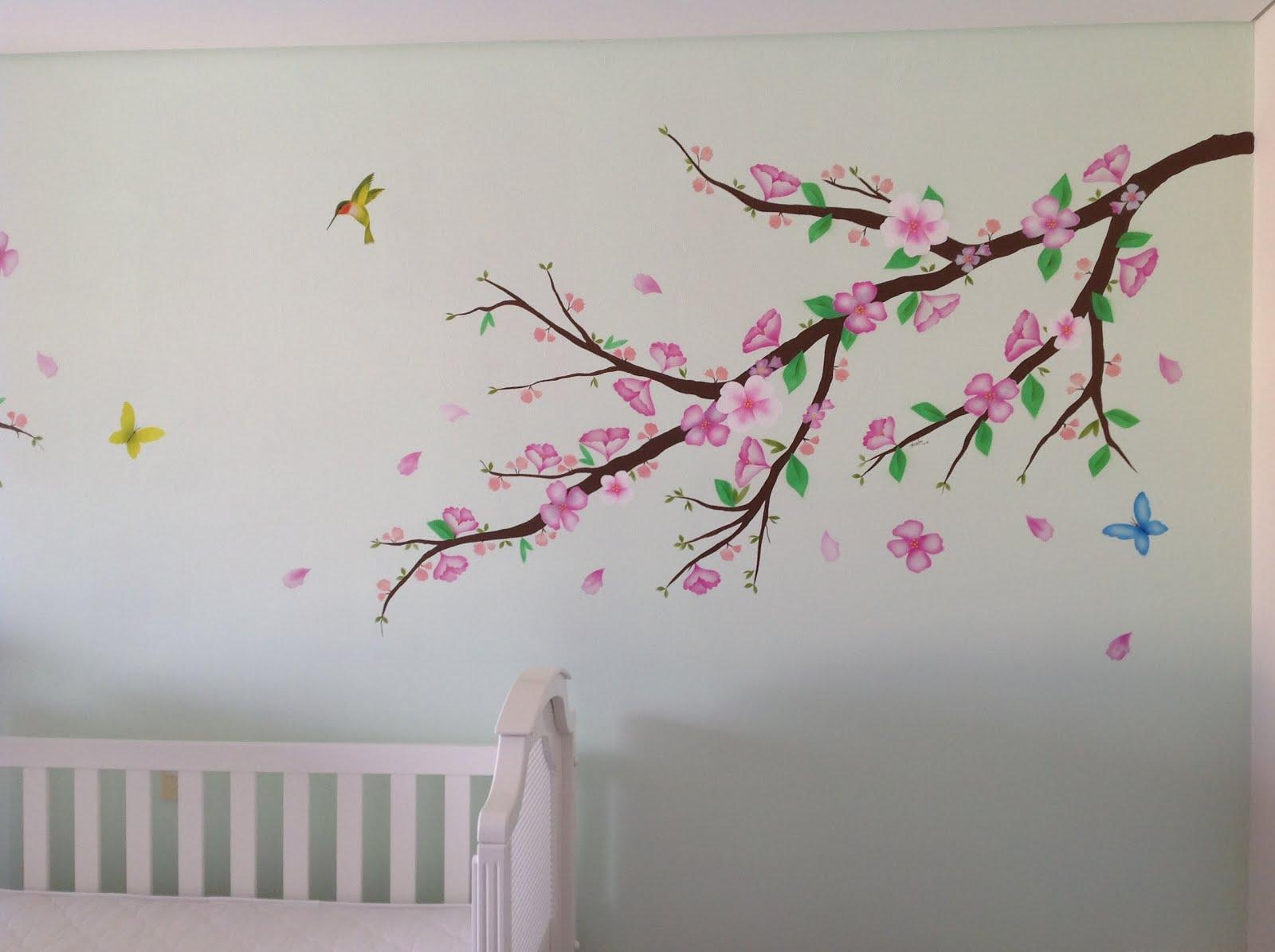 Murales infantiles y arte decorativo pintado a mano por un - Dibujos para paredes de bebes ...