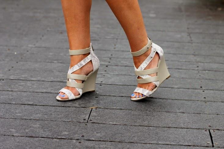 Sole Society Rocio Strappy Wedge Heel