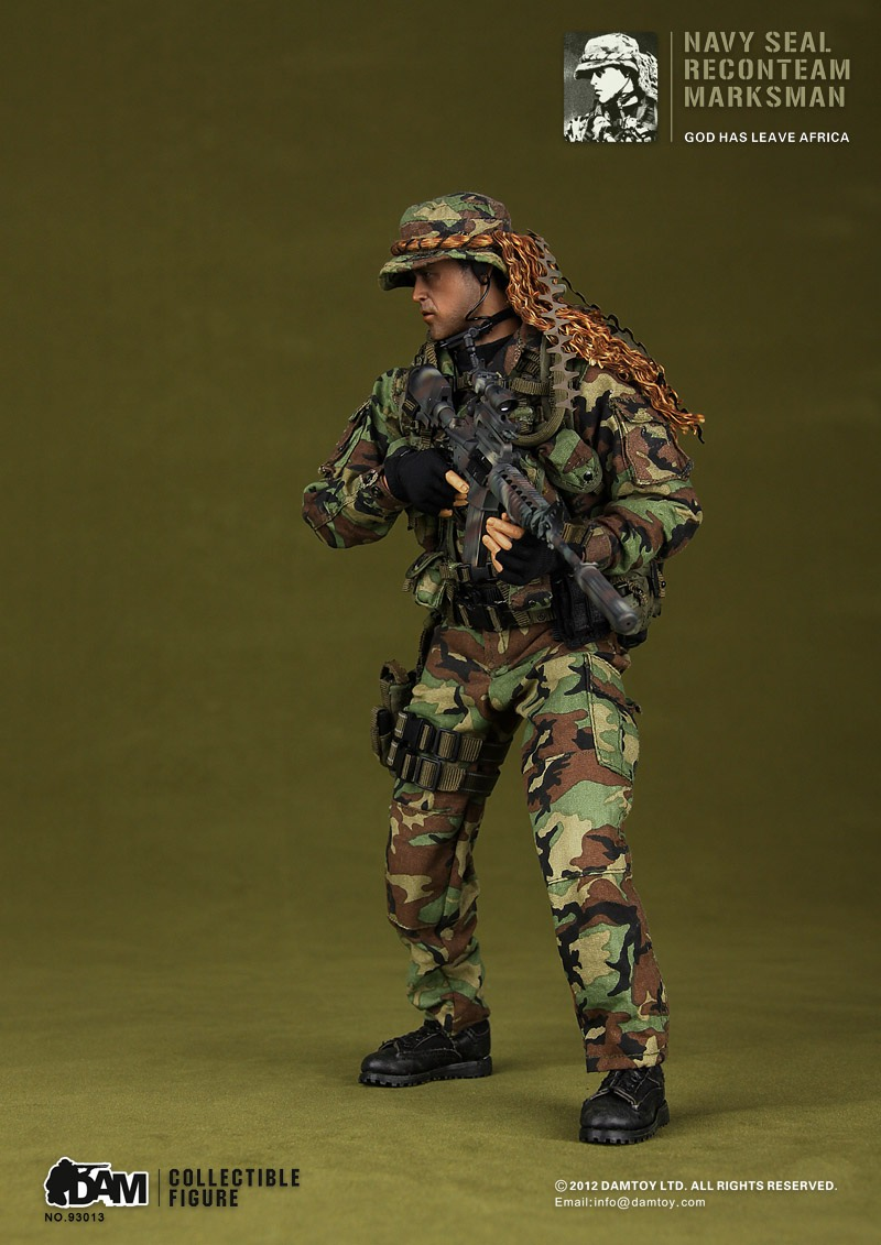 Toyhaven Incoming Dam Toys 1 6 U S Navy Seal Recon Team