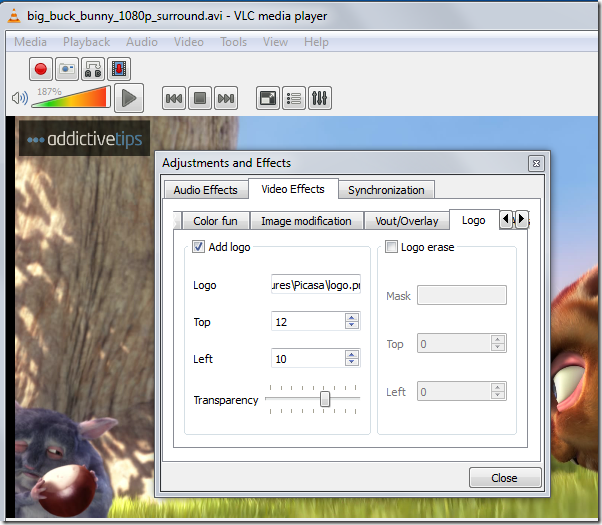 Adding Logo, VLC features, vlc modifications, video modification, video modification in vlc, vlc usage, vlc player,