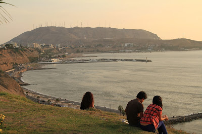 The Chorrillos District as Viewed from the Barranco District