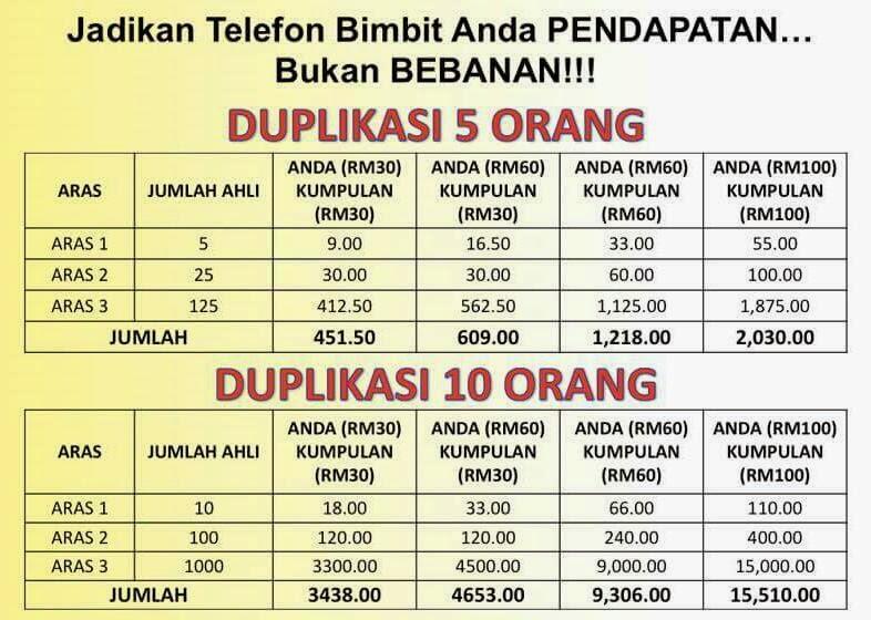 Contoh Pendapatan