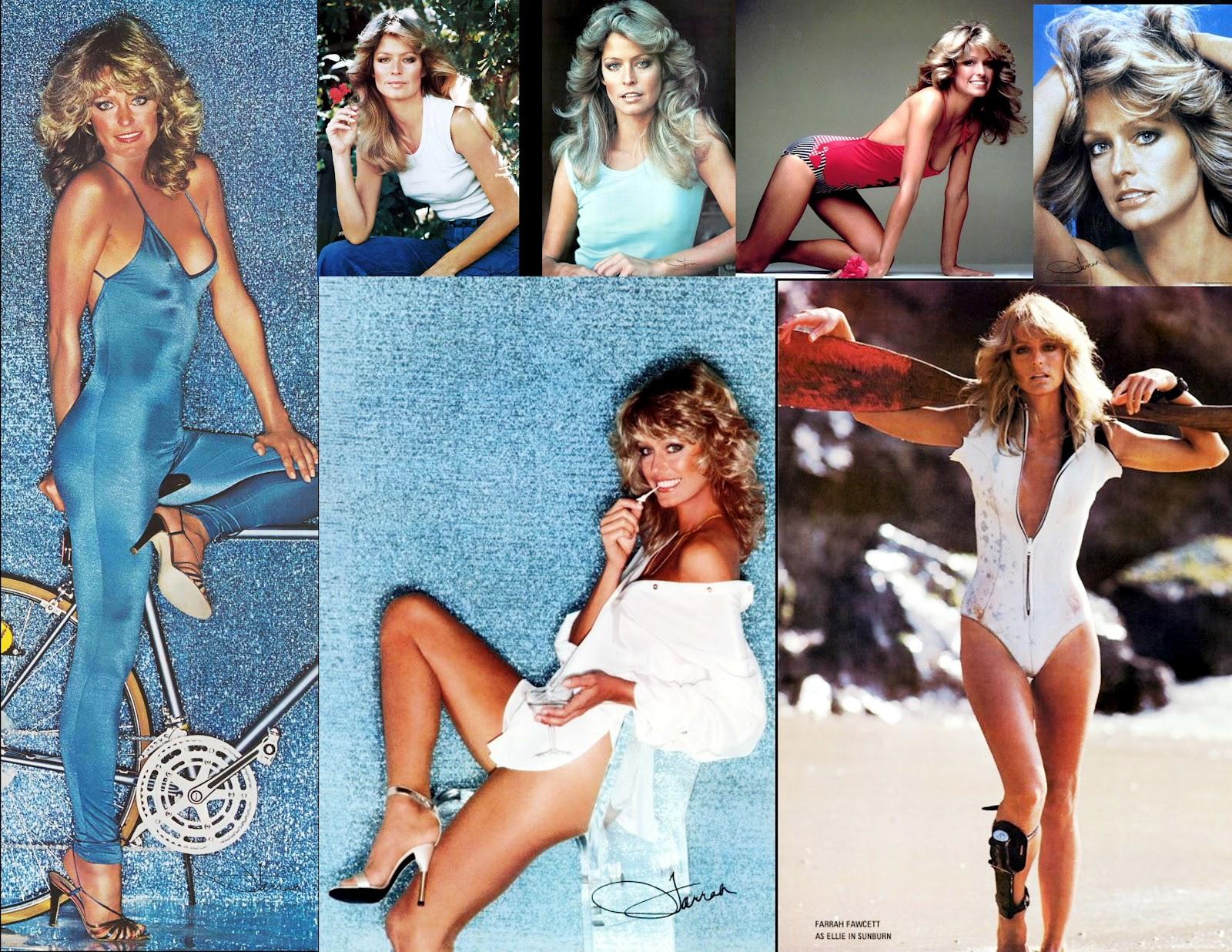 T v movie star girls pin up poster girls 1970s farrah fawcett for Farrah fawcett poster