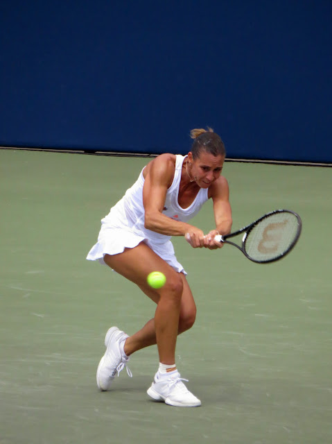 Flavia Pannette Rogers Cup 2013