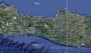 Peta Letak Kabupaten Magetan