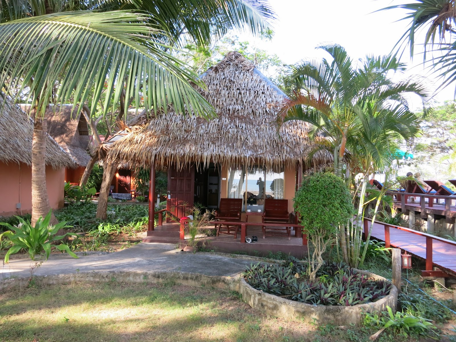 Twin Bay Resort, Kow Kwang beach, Koh Lanta, bungalow