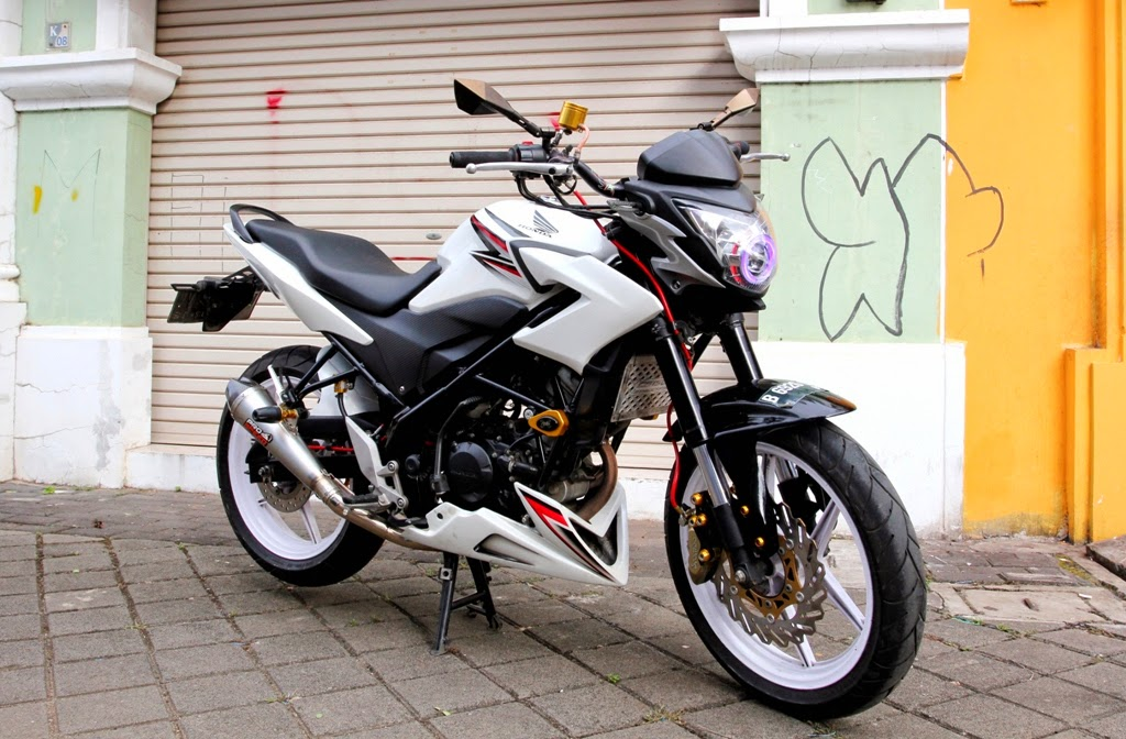Modifikasi Honda CB150R, Perkuat Gaya Streetfighter